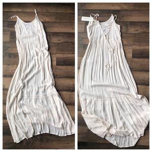 Ivory Boho Maxi Dress
